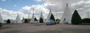 Wigwam Motel on Route 66 at Holbrook, Arizona.