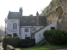 Ye olde trip to Jerusalem, supposedly the oldest inn in England. A stop off for crusaders on their way to the holy land.