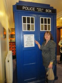 Sam and the TARDIS