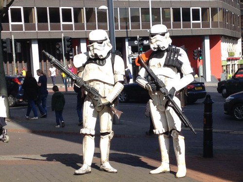 Santroopers at EM-Con 2014 at Nottingham