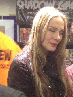 Virginia Hey. Virginia was the Warrior Woman from Mad Max 2, General Pushkin's in James Bond The Living Daylights and also in Farscape.