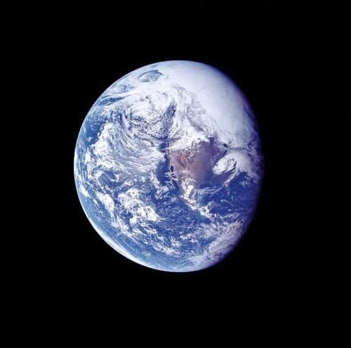 Earth from Apollo 16
