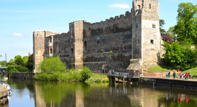 Newark Castle on the River Trent in Nottinghamshire