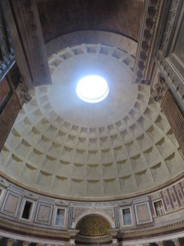 Pantheon interior dome