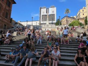 The Spanish Steps by day.