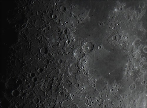 Mare Nectaris and Crater Theophilus region