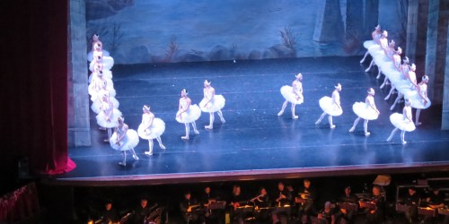 Swan Lake by Moscow City Ballet at Nottingham Theatre Royal & Royal Concert Hall.