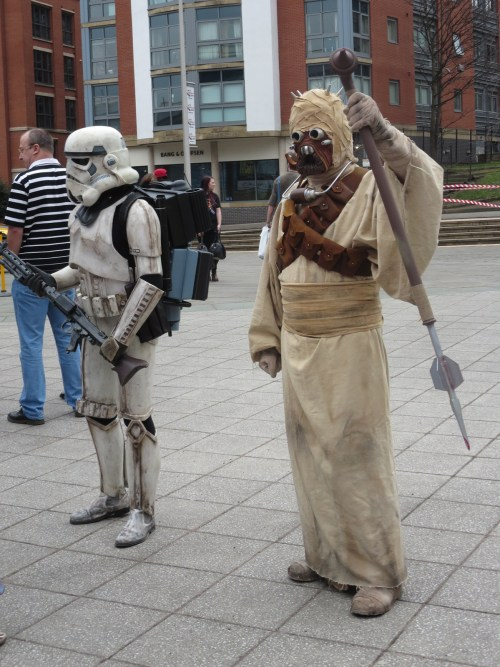 Tusken Raider, Sand People.