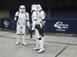 Security provided courtesy of The Empire.