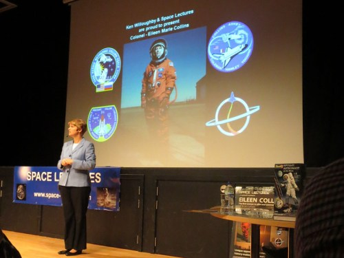 Eileen Collins www.space-lectures.com