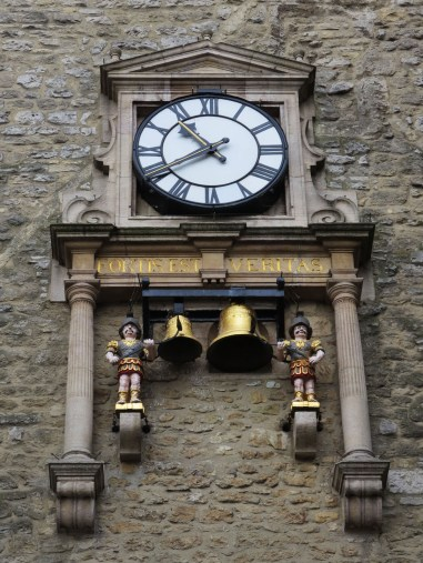 Carfax Tower clock and quarterboys