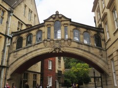 Hertford Bridge, also known as the Bridge of Sighs