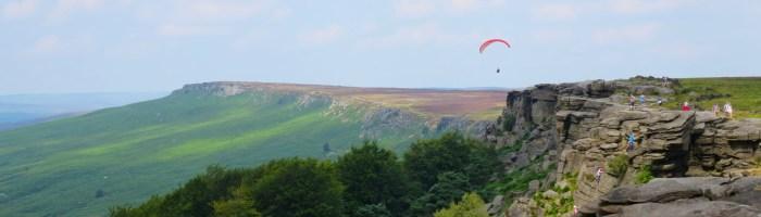Stanage Edge, Derbyshire.