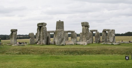 The south west view of Stonehenge is the opposite the entrance.