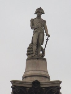 Lord Nelson at Trafalgar Square