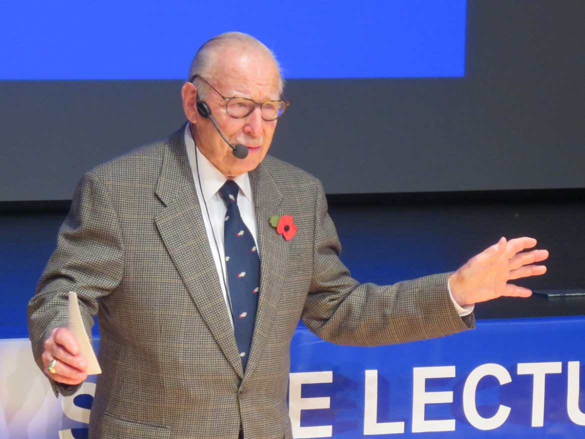 Jim Lovell at Space Lectures, 31st October 2015.