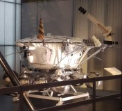 Lunokhod rover (engineering model) at the Cosmonauts exhibition
