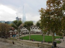 Tower Green towards the Shard. No executions today.