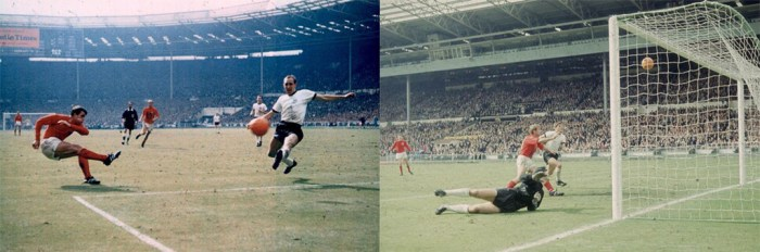 Geoff Hurst and 'that' goal