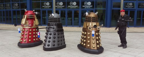 Dalek do-gooders in Nottingham