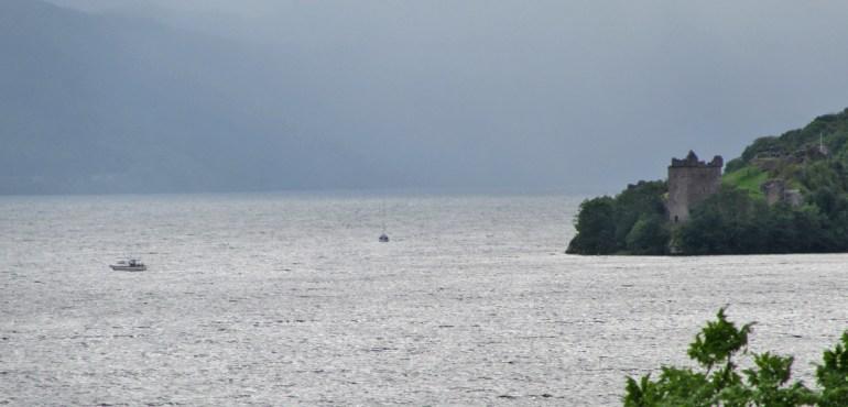 Castle Urquhart overlooking Loch Ness