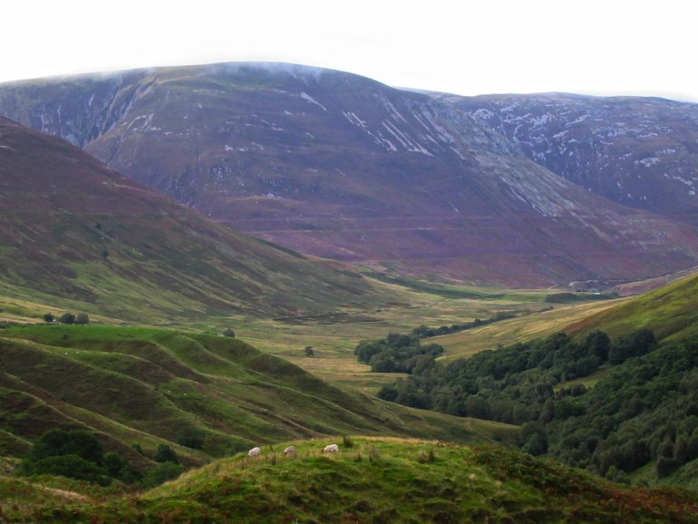 The Ice Ages landscape of The Parallel Roads of Glen Roy