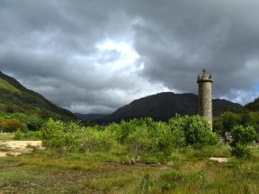 A brooding sky over the highlands of Glenfinnan