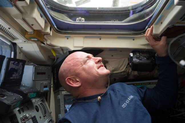 Astronaut Mark Kelly STS-134 commander