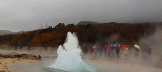 Iceland – Geysers and Gullfoss in The Golden Circle Tour