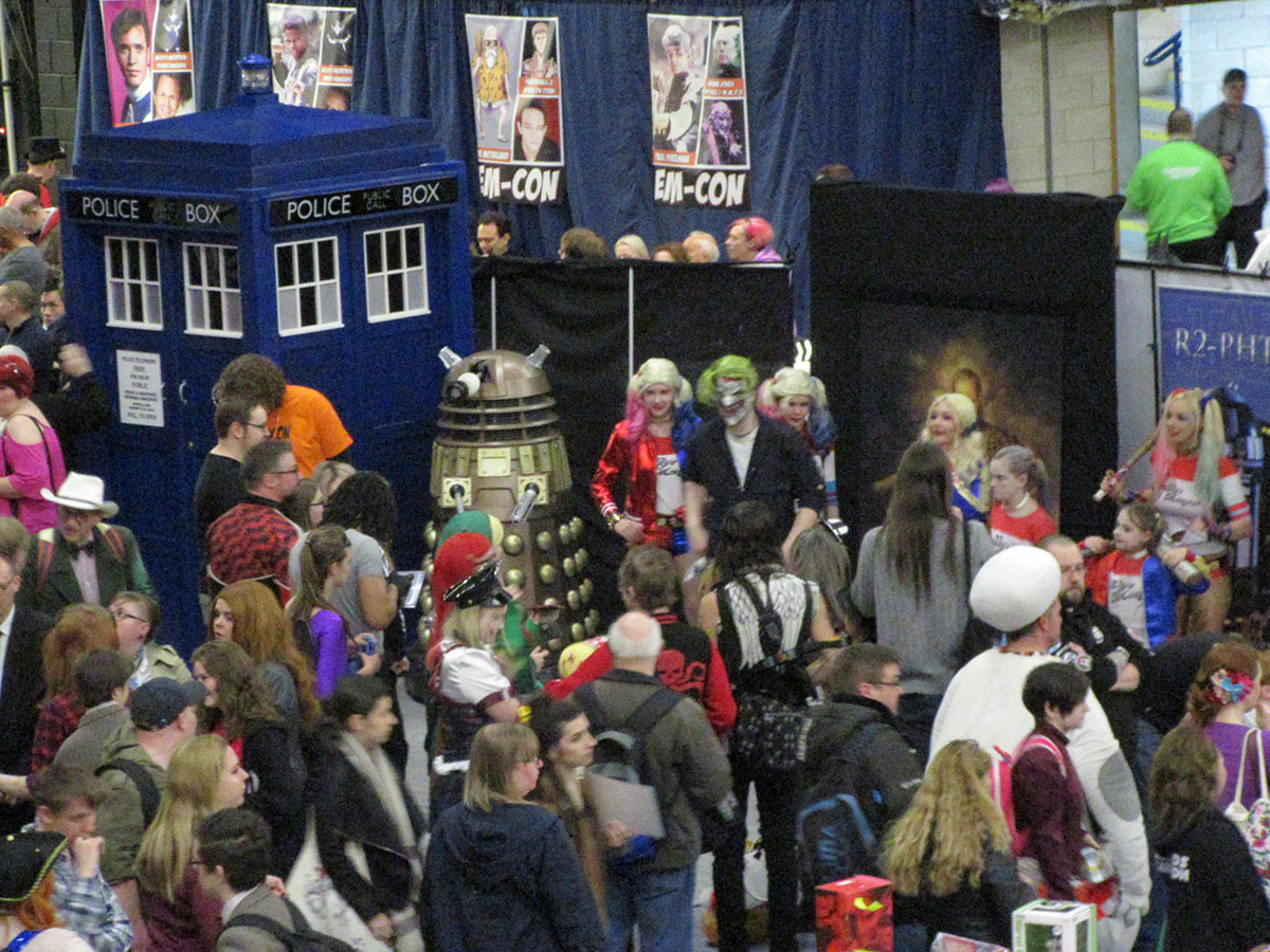 Nerding it up in Nottingham at EM-Con 2017 - East Midlands TV and Film Convention