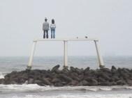 'Couple' at Newbiggin