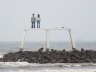 'Couple' at Newbiggin
