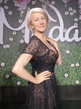 Helen Mirren at Madame Tussauds