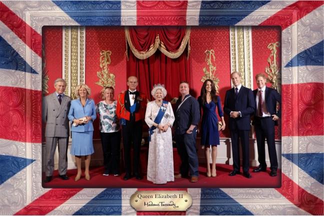 Royal Family Madame Tussauds
