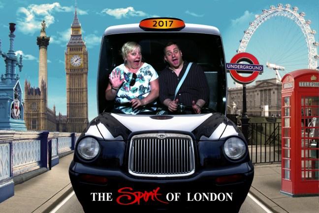 Spirit of London at Madame Tussauds