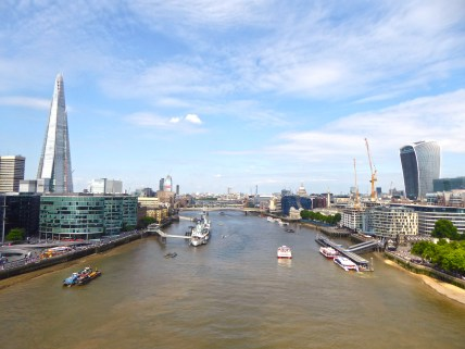 The River Tames from Tower Bridge