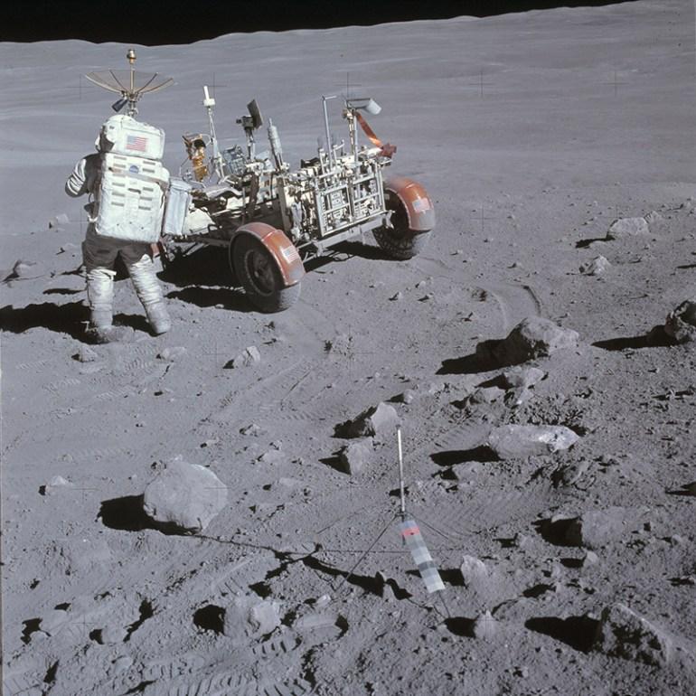 Charlie Duke Lunar Rover
