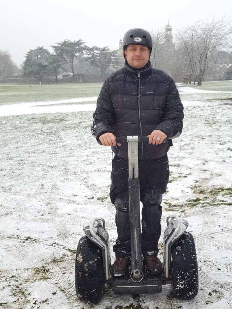 Nick Cook Segway