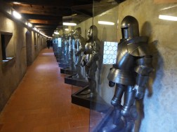 Collection of armour at Prague Castle