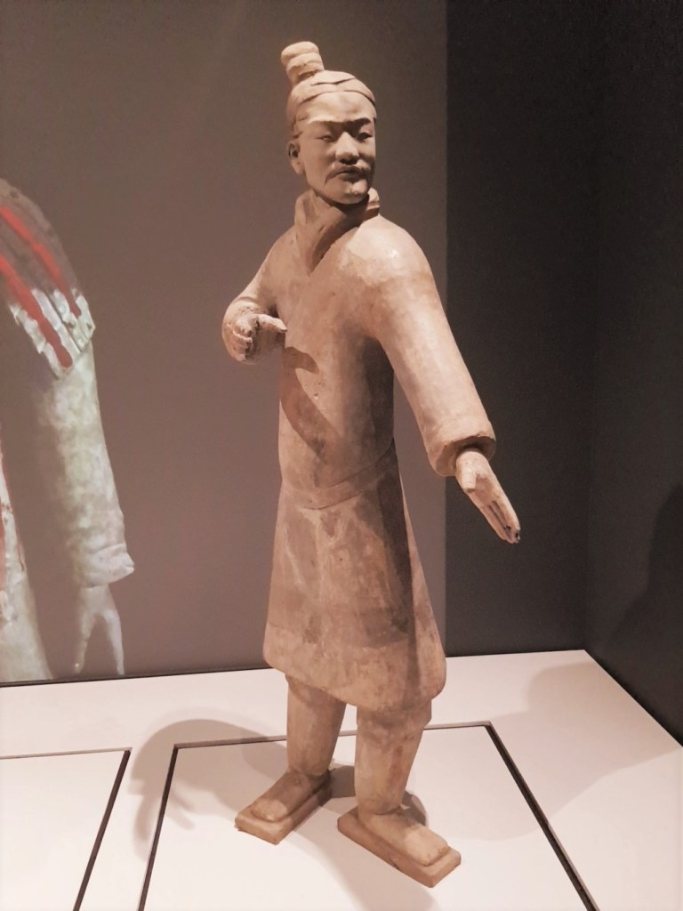 Standing Archer at the Terracotta Warrior exhibition in Liverpool
