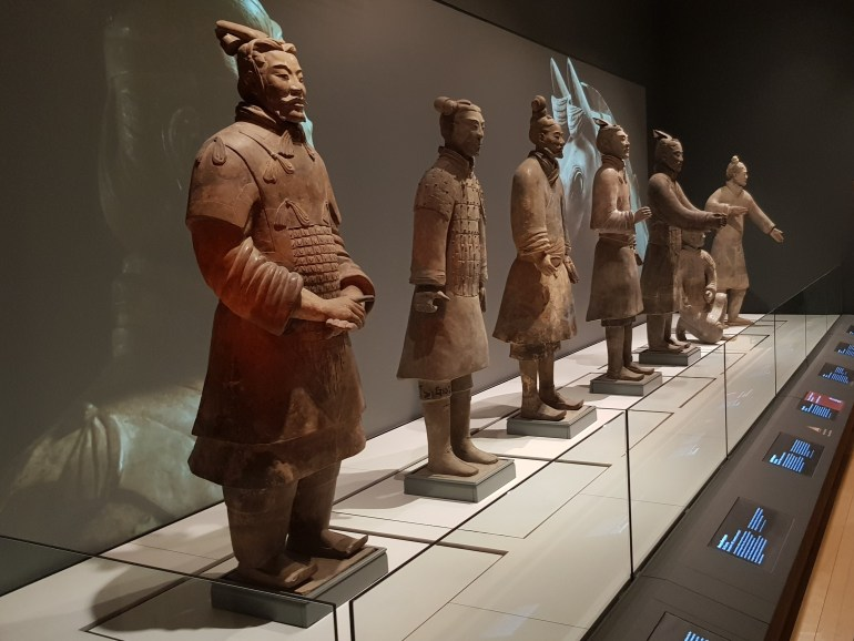 Terracotta Warriors at Liverpool's World Museum