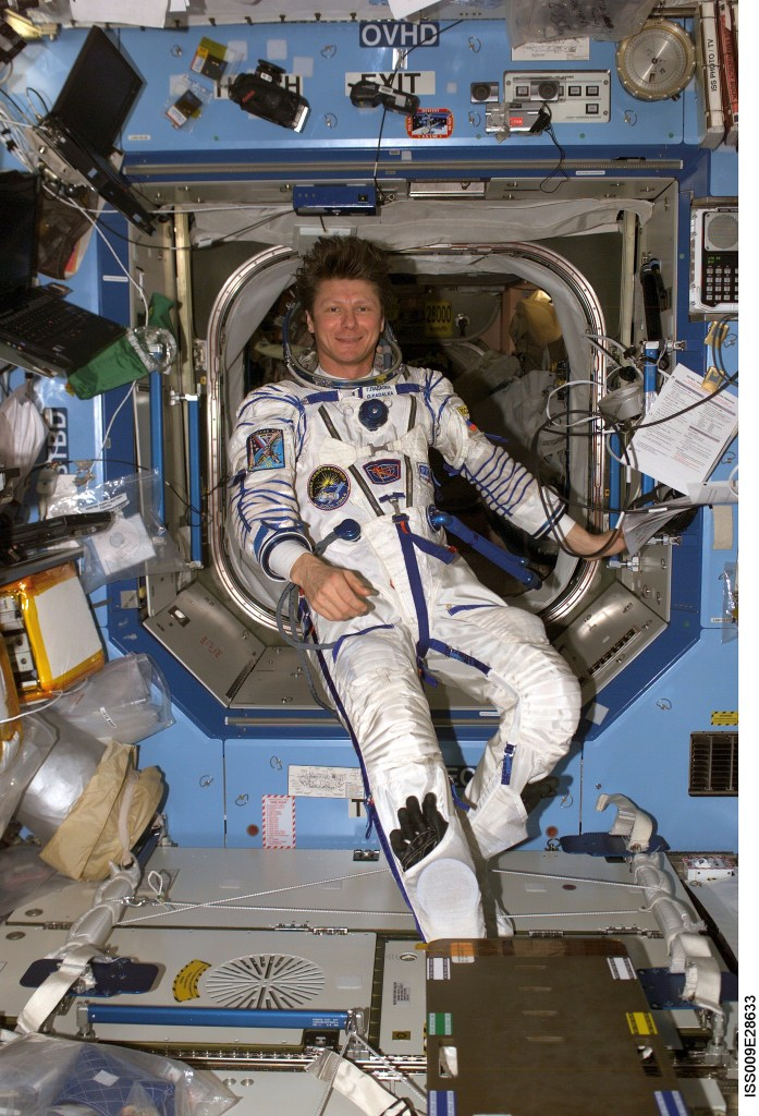 Cosmonaut Gennady Padalka Expedition 9 commander