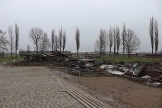 Birkenau gas chamber and crematorium