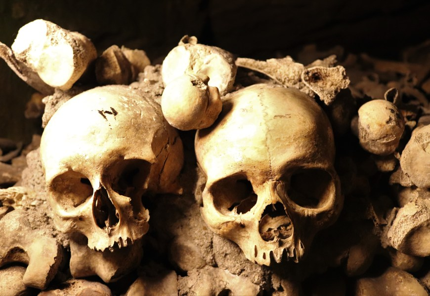 The Dead Centre of Paris – Paris Catacombs