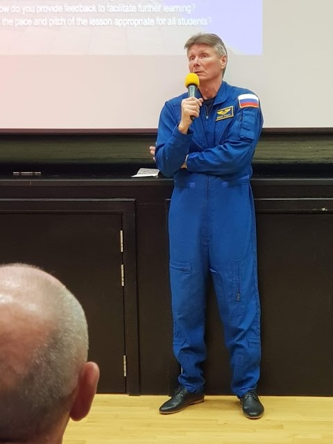 Gennady Padalka at Space Lectures
