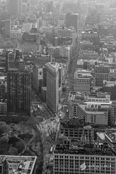 Flat-iron building - New York City