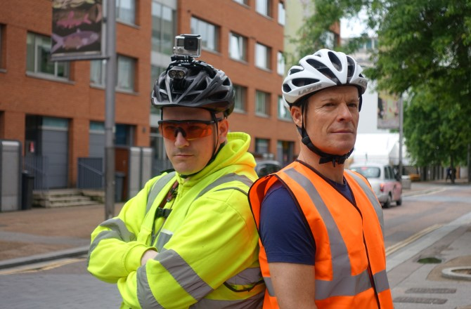 Clamp Down On Lawless Delivery Cyclists, Says Mr Loophole & Cycling Safety Champion!