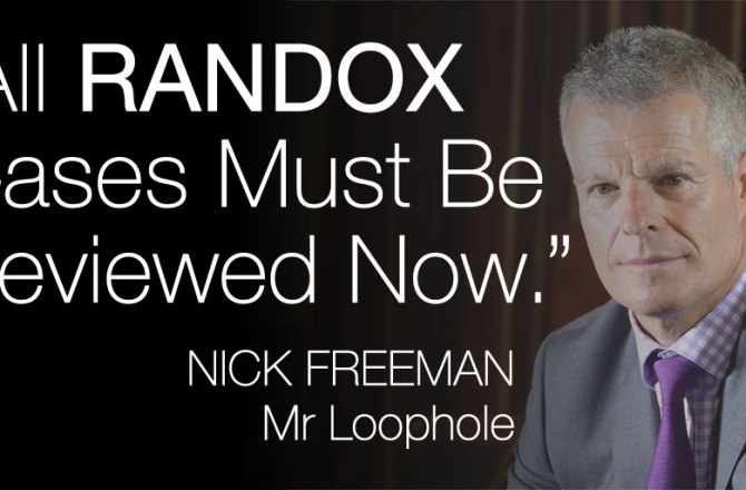 """All Randox Cases Must Be Reviewed Now"", Demands Mr Loophole!"