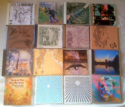 Nick Stephenson CD's 2001 - 2014