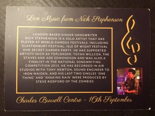 Nick Stephenson Music album preview